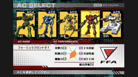 Armored Core : Formula Front