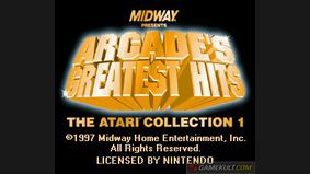 Arcade's Greatest Hits : The Atari Collection 1