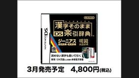 Kanji Nintendo DS Dictionary