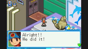 Mega Man Battle Network 6 Cybeast Falzar