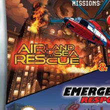 Matchbox missions : Emergency Response / Air Land & Sea Rescue