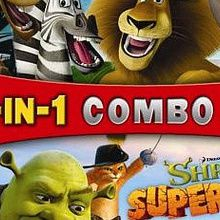 2 in 1 Combo Pack : Madagascar / Shrek Super Slam