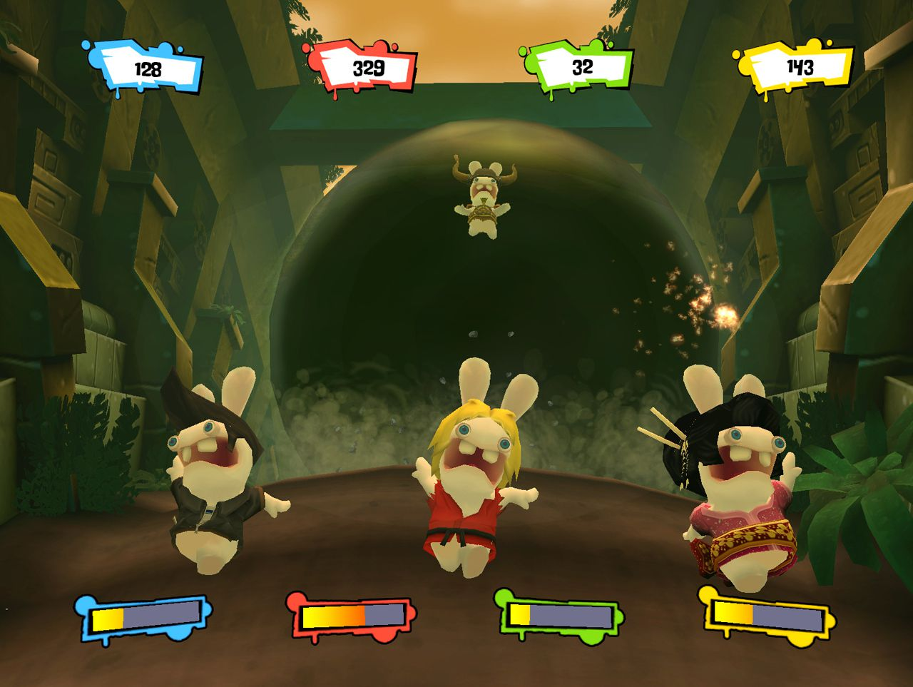 Filme Rayman pertaining to test rayman contre les lapins encore plus crétins - gamekult