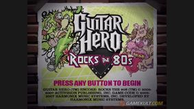Guitar Hero : Rocks the 80s