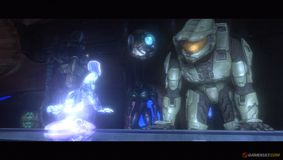 Cortana et le Major - Halo 3