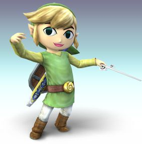 Link enfant dans Super Smash Bros Brawl