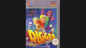 Digger T. Rock : Legend of the Lost City