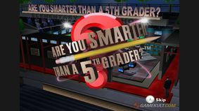 Are You Smarter Than a 5th Grader ? Make the Grade