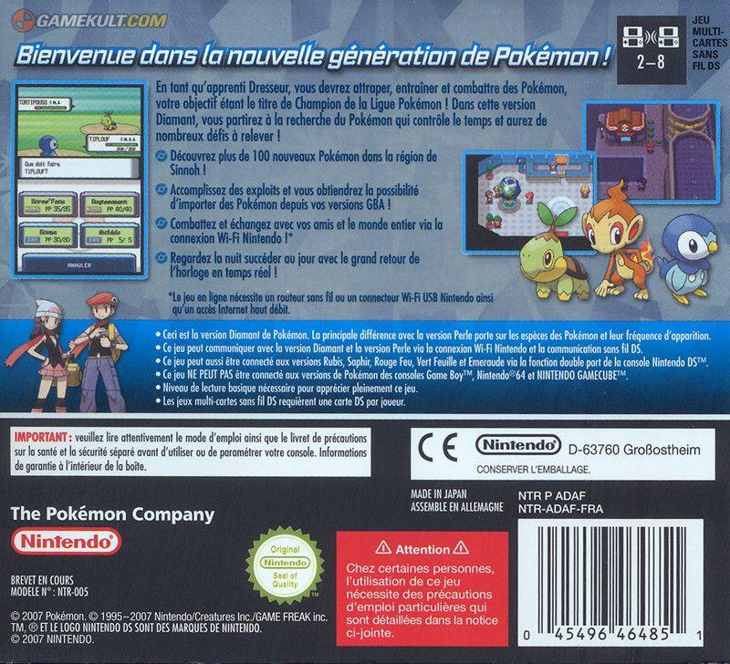 Images du jeu pok mon diamant gamekult - Jeux info pokemon ...