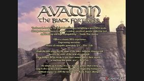 Avadon : The Black Fortress