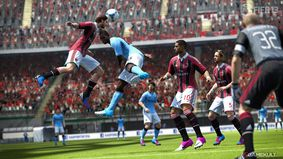 Manchester City contre le Milan AC - FIFA 13 - Screenshot éditeur