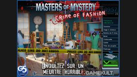 Masters of Mystery : Crime of Fashion HD