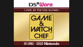 Game & Watch : Chef