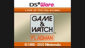 Game & Watch : Flagman