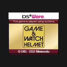 Game & Watch : Helmet