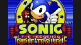 Sonic the Hedgehog : Triple Trouble