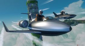 Manager en avion dans Sonic All Star Racing Transformed