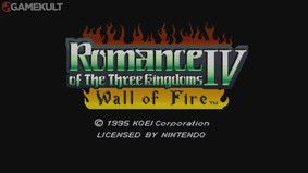 Romance of the Three Kingdoms IV  : Wall of Fire