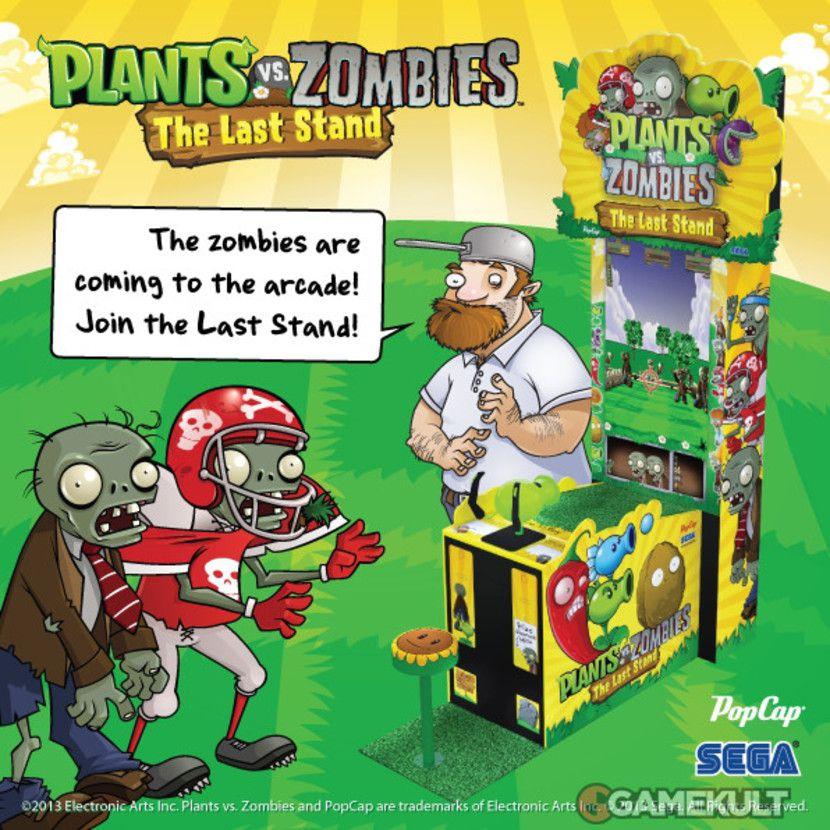 plante verte zombie