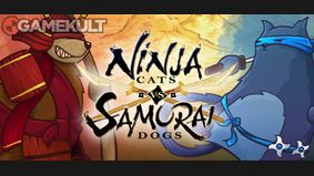 Ninja Cats vs Samurai Dogs