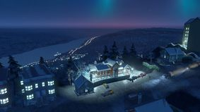 Cities Skylines : Snowfall