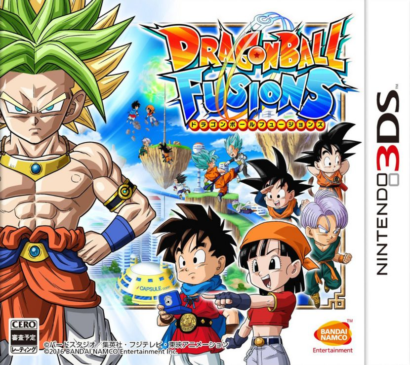 Test Dragon Ball Fusions - Nintendo 3DS - Gamekult