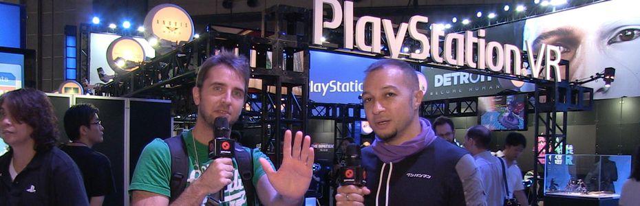 Docus/reportages - Le stand Sony résumé par Puyo et Greg