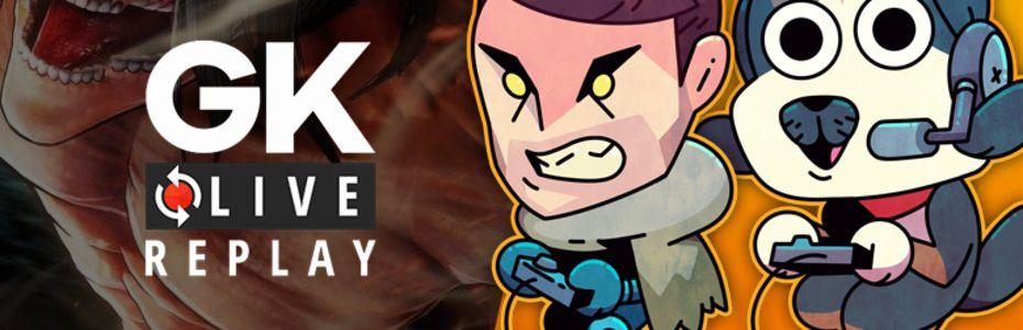 Gk live (replay) - L'équipe de choc Puyo / Yukishiro se frotte aux titans d'A.O.T 2
