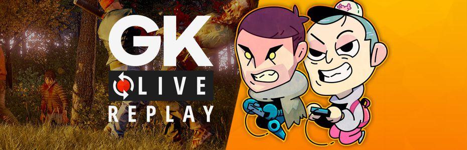 Gk live (replay) - On démembre les zombies de State of Decay 2 avec Noddus et Puyo