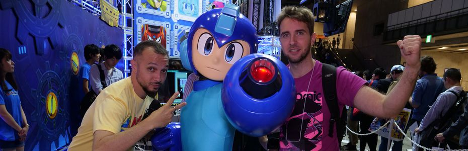 Docus/reportages - Goûtons l?effervescence autour de Mega Man au TGS 2018 avec Puyo et Greg