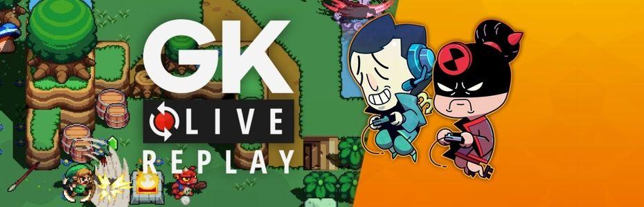 Gk live (replay) - Pipo et Luma entrent dans la danse de Cadence of Hyrule
