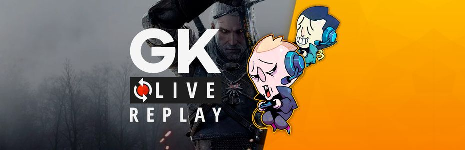 Gk live (replay) - Gautoz emmène Pipomantis sur son canasson à la rencontre de The Witcher 3 sur Switch