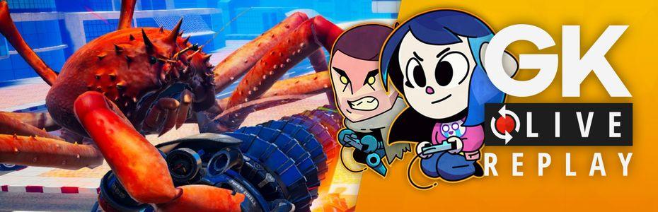 Gk live (replay) - Luma et Puyo font du pâté de crabes dans Fight Crab