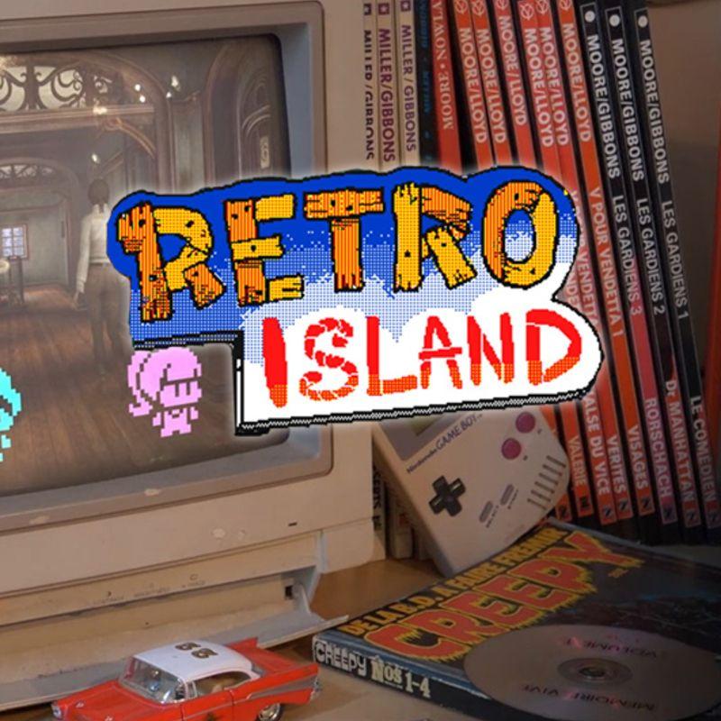 Retro island - Les mondes que Benoît Sokal laisse derrière lui