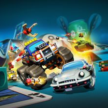 Micro Machines World Series joue kart sur table