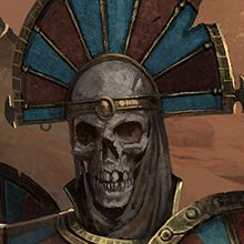Rise of the Tomb Kings : occis-mort et marteau de guerre