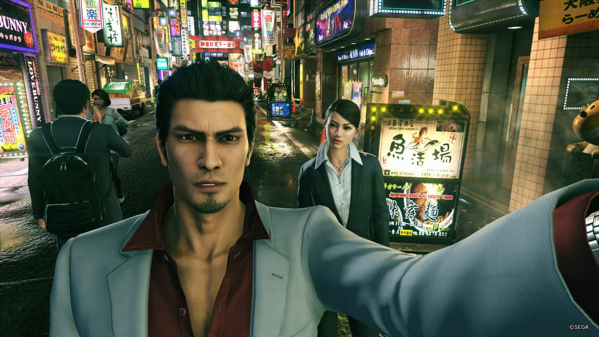 Test Yakuza Kiwami 2 Playstation 4 Gamekult