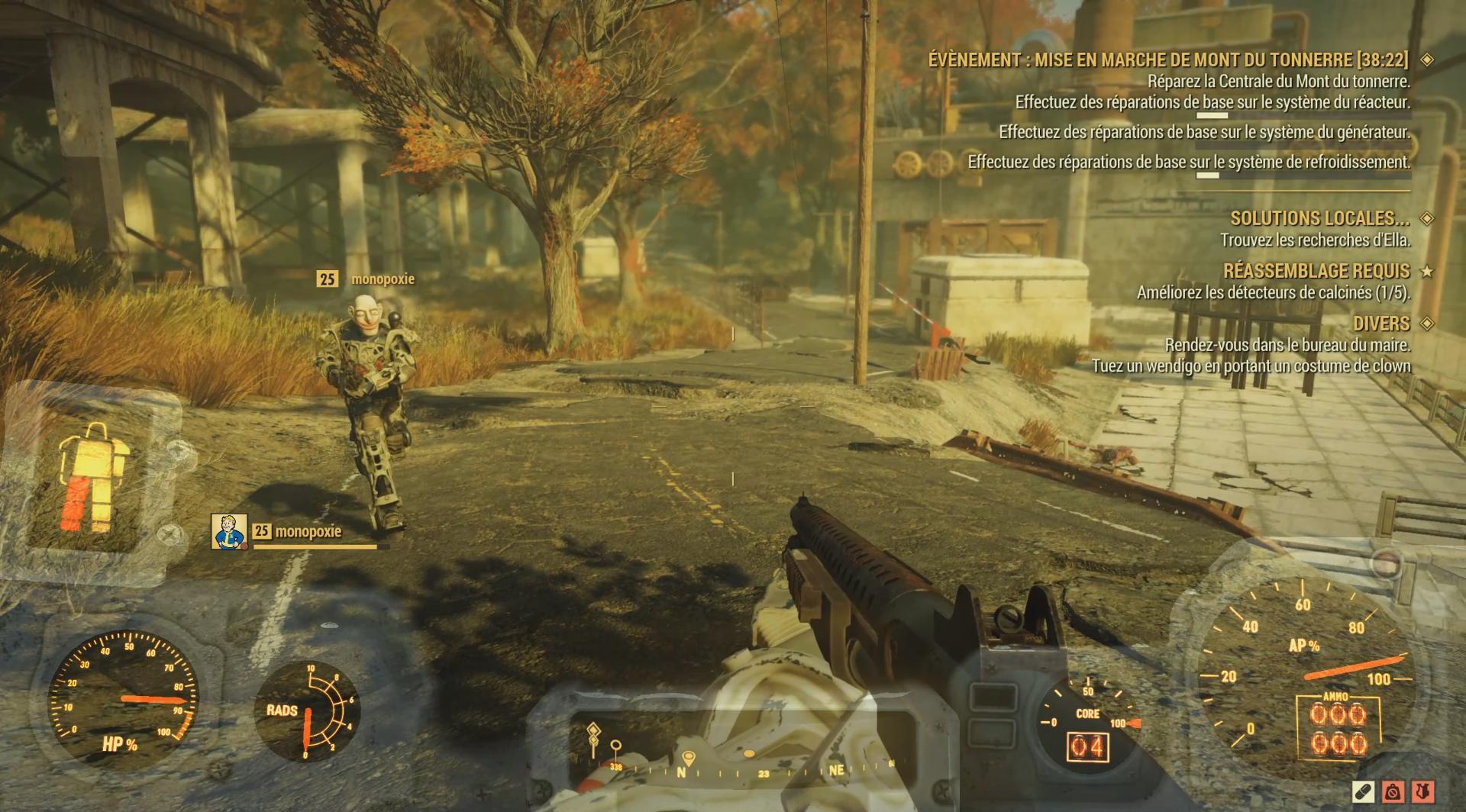 Comment voulez-vous brancher la puissance dans Fallout 4
