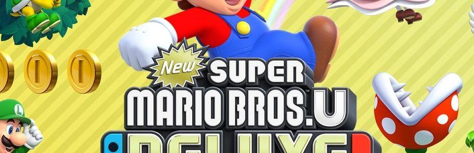 Test New Super Mario Bros  U Deluxe - Nintendo Switch - Gamekult