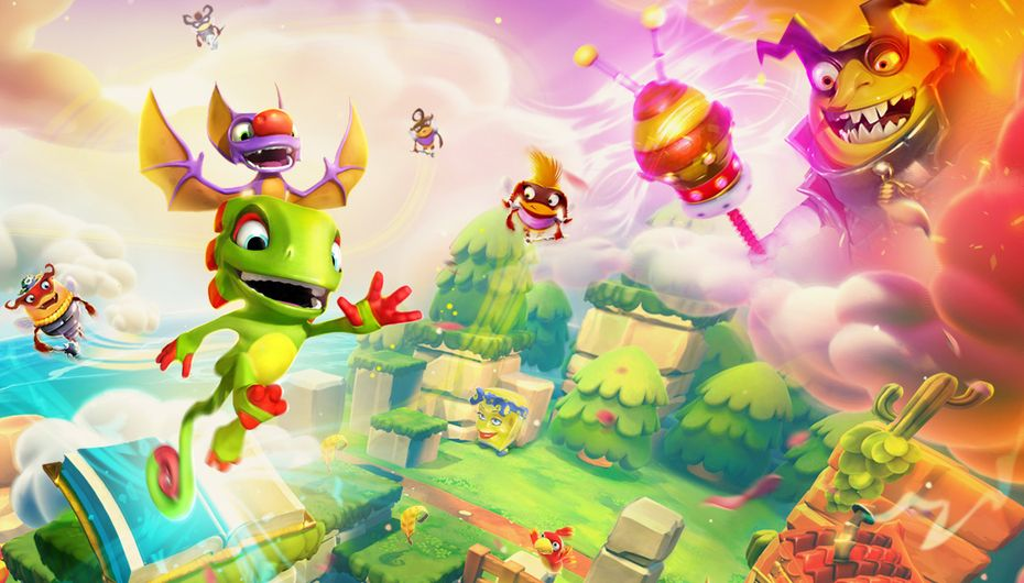 Test - Yooka-Laylee and the Impossible Lair : trop Rare pour mourir