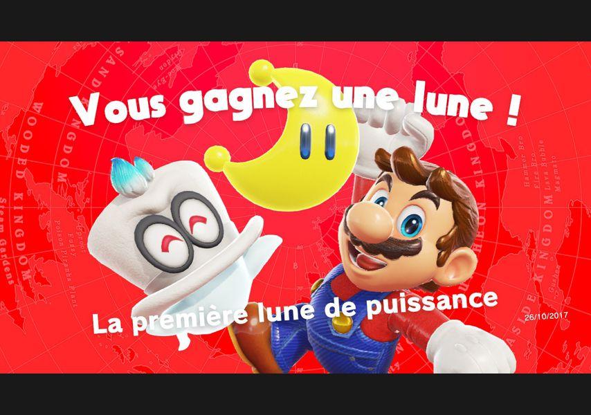 Pixel Art Mario Odyssey Lune